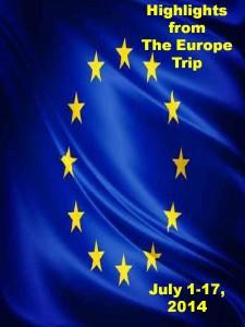 Europe Trip Title