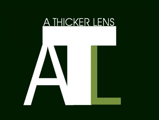 A Thicker Lens Logo